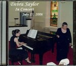 Debra Saylor in Concert with Erica Suh / CD