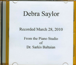 Debra Saylor Performs!   March 28th, 2010 /CD